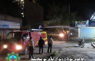 ادامه عملیات پیشگیری و مقابله با ویروس کرونا، ضدعفونی منطقه هفده شهریور توسط شهرداری مسجدسلیمان